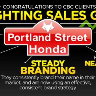 Portland Street Honda Branding