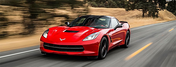 Red Corvette GM